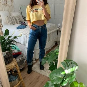 Vintage high waisted gap jeans